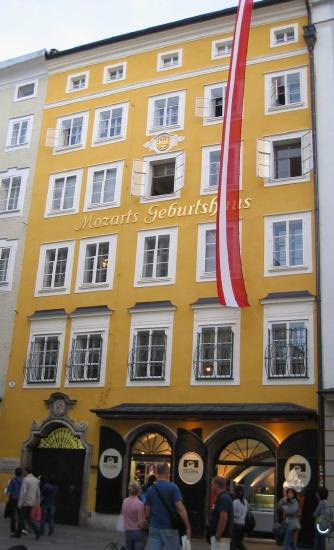 SALZBURG Mozart's home