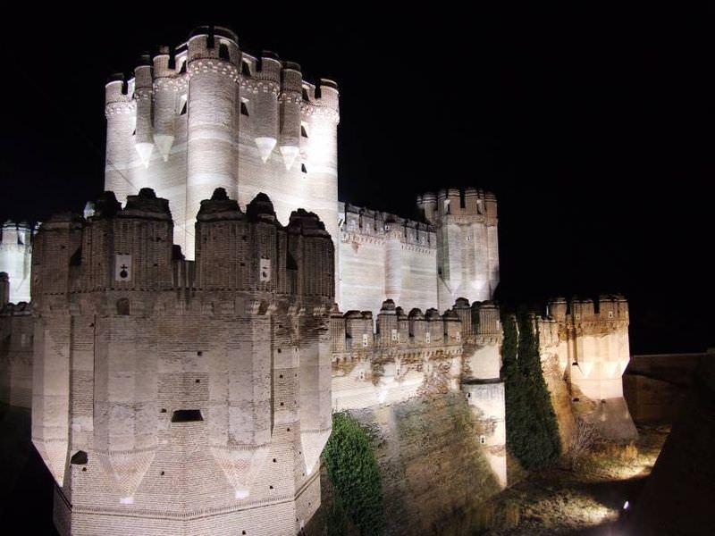 Castillo De Coca on of the many castles in Spain