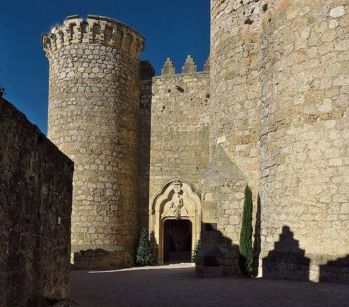 Belmonte Castle one of the many castles in Spain