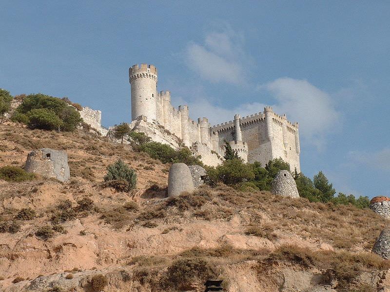 Castillo de Penafiel on of the beautiful castles in Spain