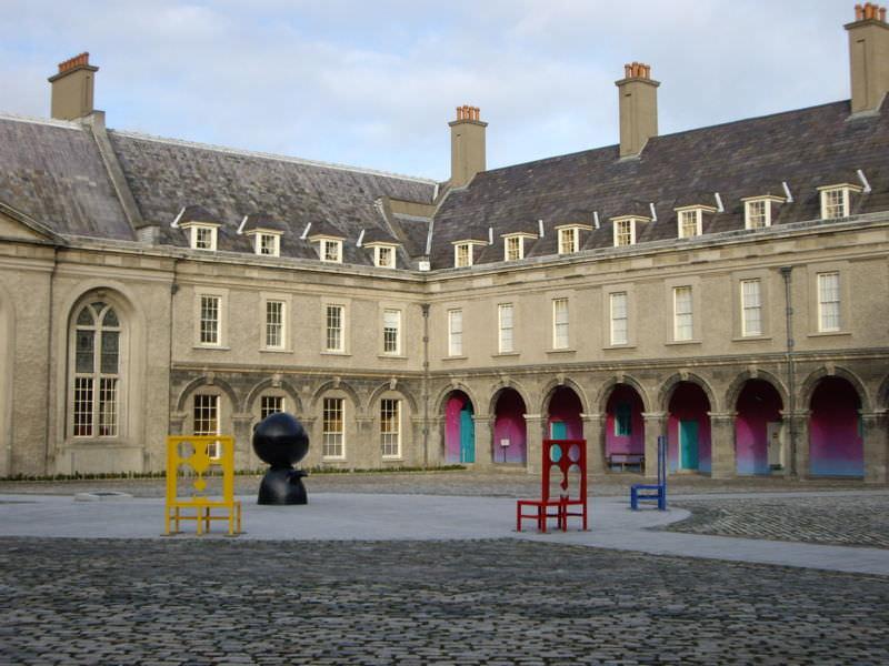 IMMA courtyard