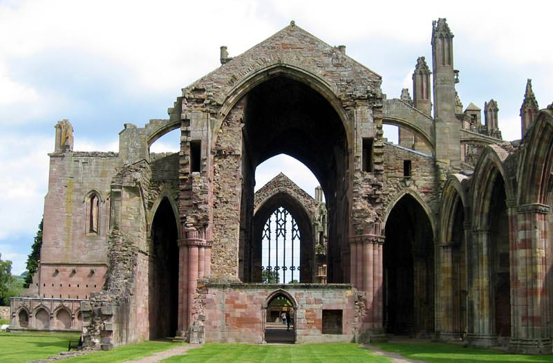 One of the great Scotland sights, Melrose Abbey