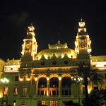 Monaco Casino at night
