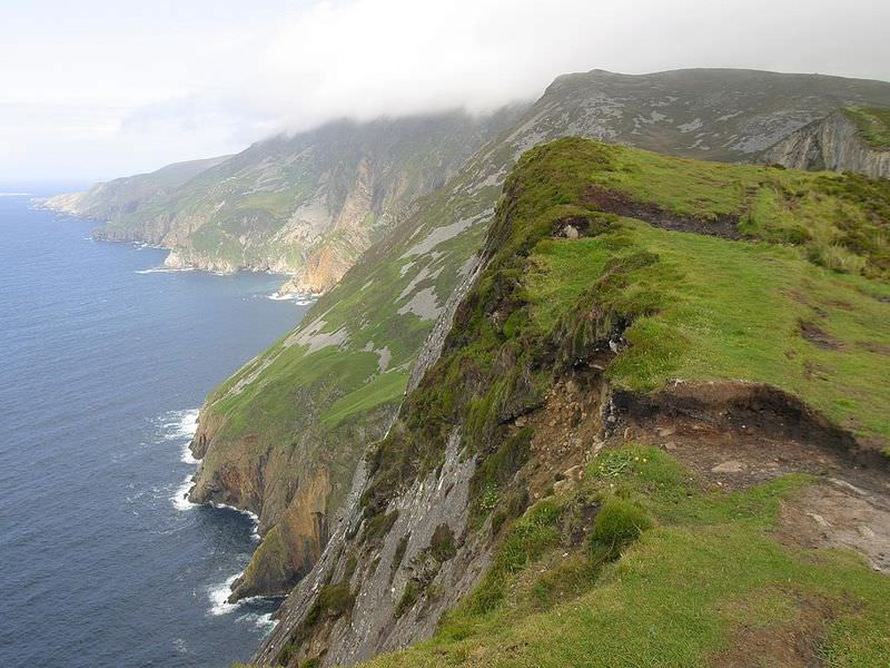 Ireland's rugged coast at Slieve League