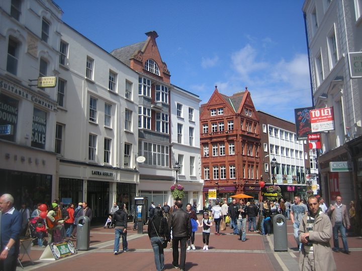 Grafton Street in Dublin