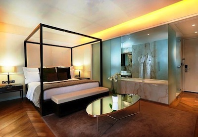modern elegance at the  Marriott Grosvenor Square