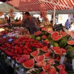 Nice Market in Summer