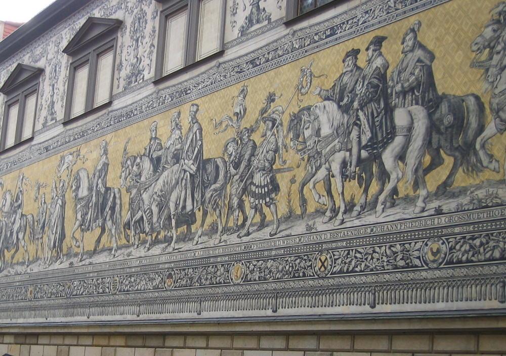 Der Fürstenzug - The Procession of Princes