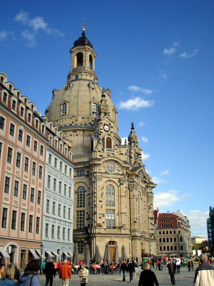 The beautiful Frauenkirche