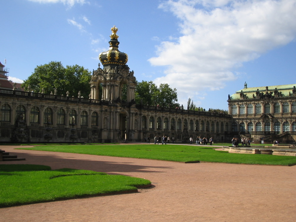 The spectacular Zwinger Palace