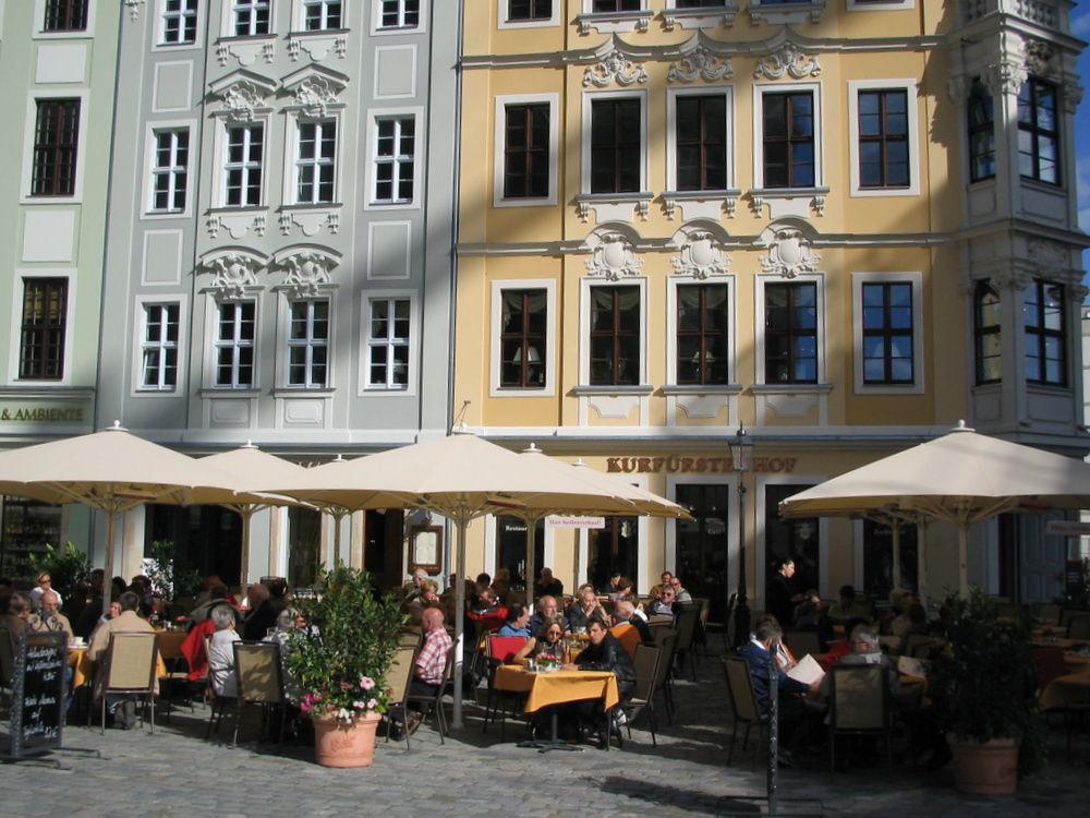 Dresden street scene