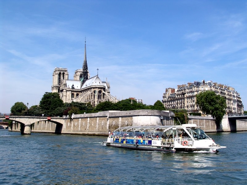 Batobus on the Seine