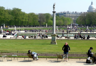 Paris Arrondissement spring weather