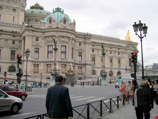 Opera Garnier in Paris 9th Arrondissement