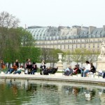 The Tuileries in the 1st Paris Arrondissement