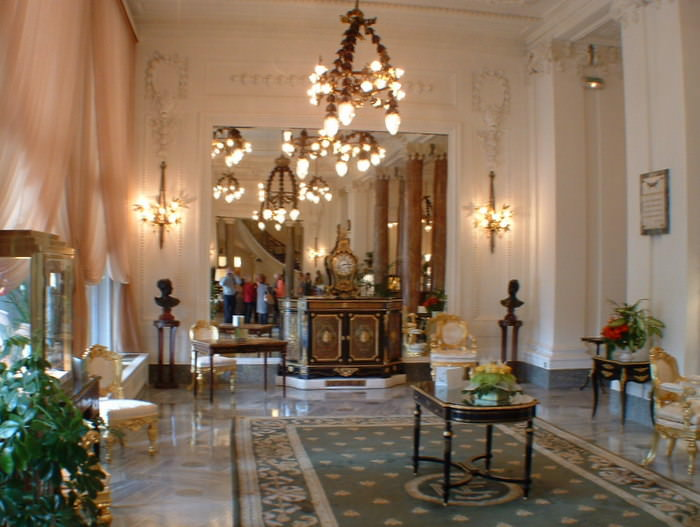 The exquisite Hotel de Palais