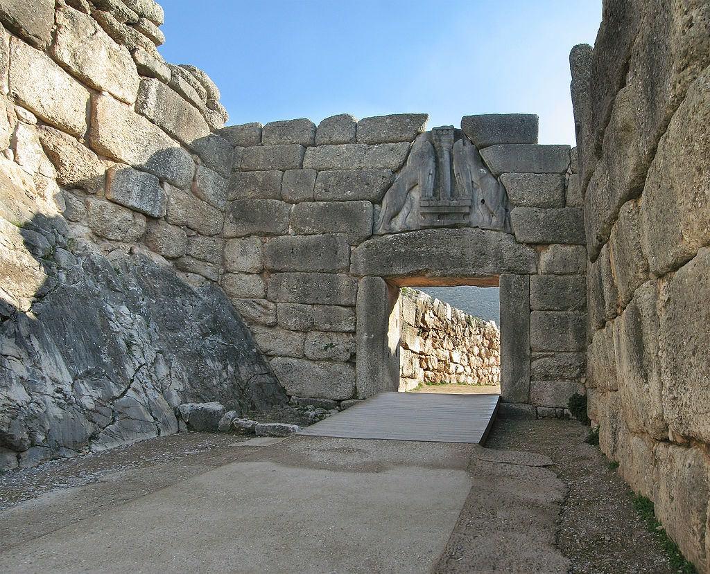 The Lion's Gate at Mycenae