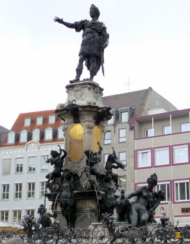 Caesar Augustus in Augsburg