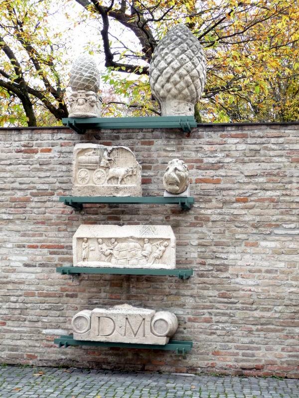 Roman artifacts in Augsburg