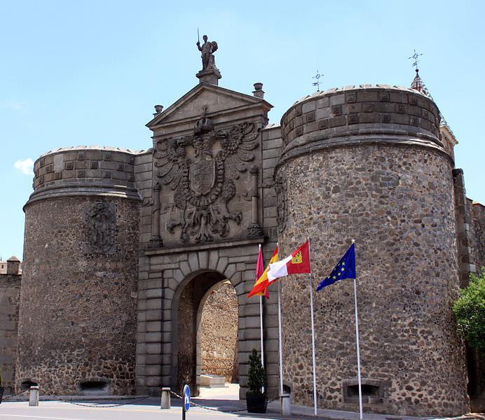 Toledo Puerta Bisagra