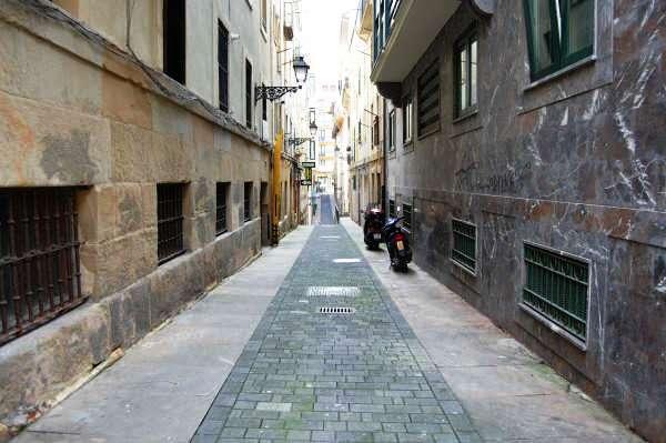 a street in parte vieja