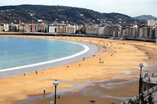 San Sebastian's Playa de la Concha