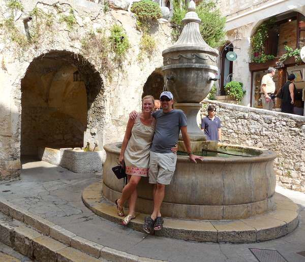 Resting at the Fountain in St Paul de Vence