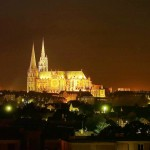 Chartres Cathedrale by night - Guillermo Osorio