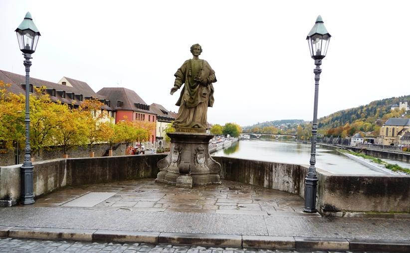 Wurzburg's Main Bridge