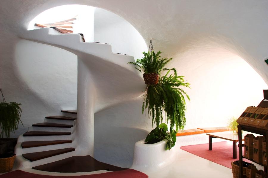 stairway at Mirador del Rio