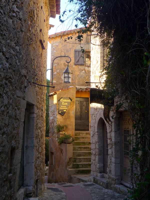 A street in Eze