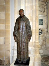 statue-in-sherborne-abbey
