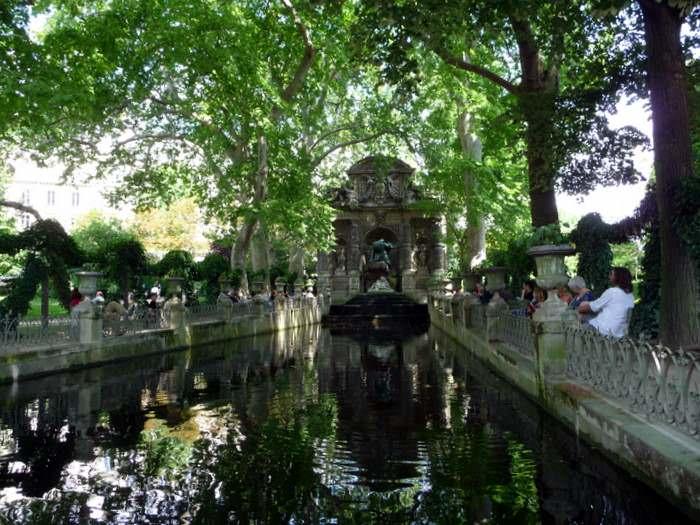 Paris's Medici Fountain