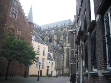 Clerical architecture in the old centre of Utrecht