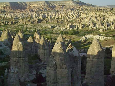 Fairy chimneys in Goreme