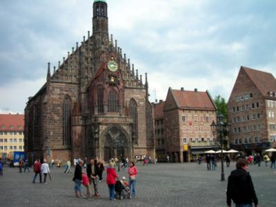 Hauptmakt, Nurnberg's Main Market Square