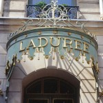 Laduree on the Champs Elysees