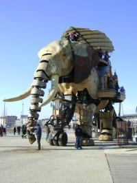 mechanical-elephant