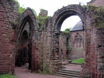 There are historic ruins in Chester