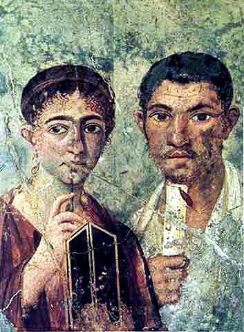 Pompeii, Italy Couple