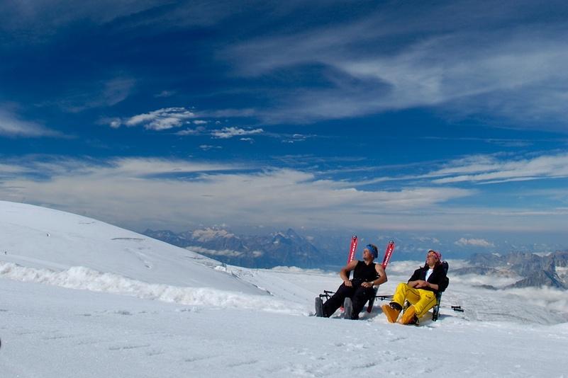 summer-skiing