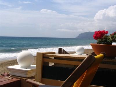 The beach in Argios-Gordis