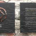 Unesco plaque in Bryggen