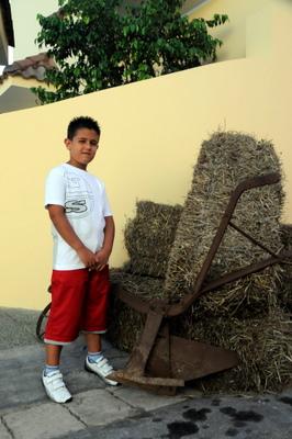 young-boy-alongside-antique-plow-at-merines-sagra-te-lu-ranu