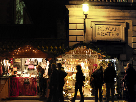 The festive Bath Christmas Market