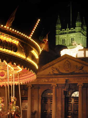 Carrousel at the Bath Christmas Market