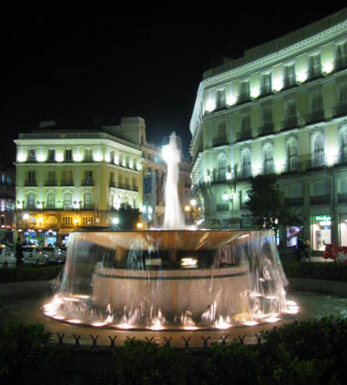 Madrid Fountain