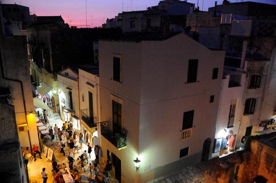 View from walkway over Otranto