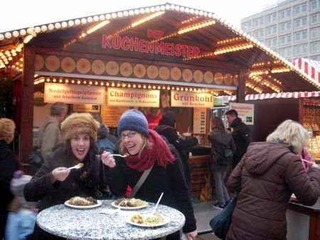 lunch at Alexanderplatz