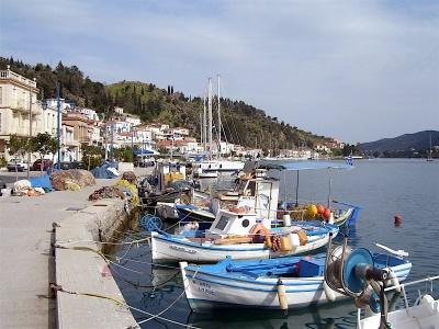 Poros Island Bay